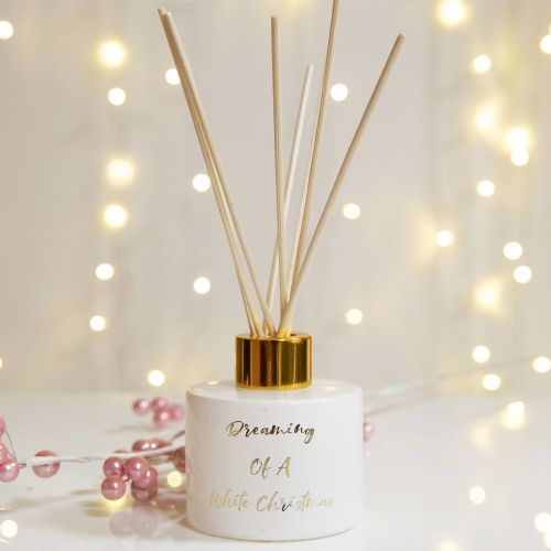 Fragranced Christmas Diffuser Dreaming of a White Christmas